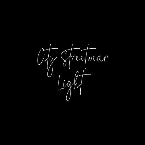 City Streetwear Light Font - 1 User