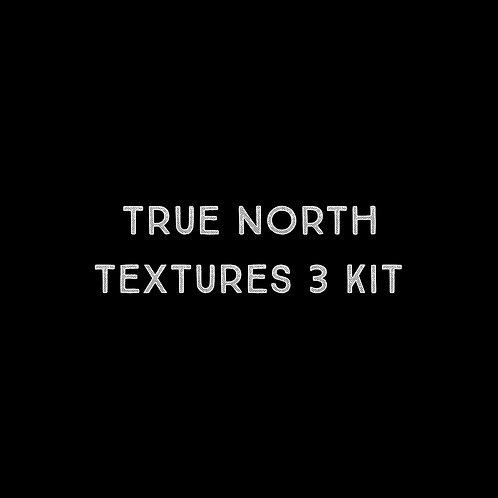 True North Textures Three Font Kit - 1 User