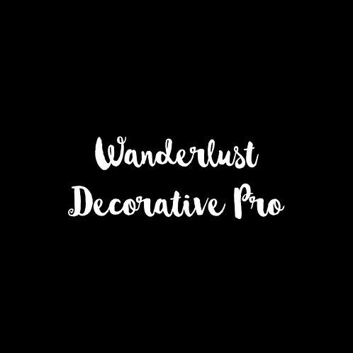 Wanderlust Decorative Pro Font - 1 User