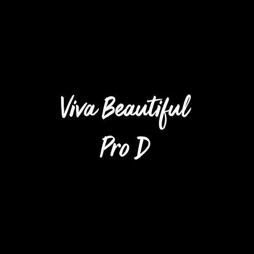 Viva Beautiful Pro D Font - 1 User