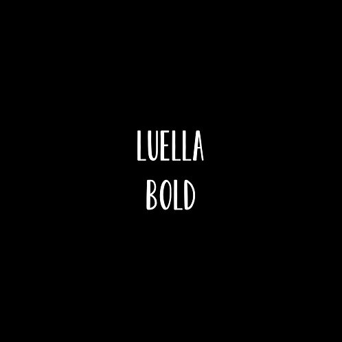 Luella Bold Font - 1 User