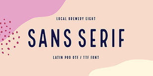 Local Brewery Eight Font