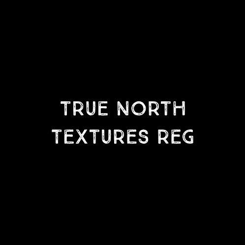 True North Textures Font - 1 User