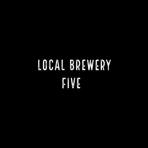 Local Brewery Five Font - 1 User