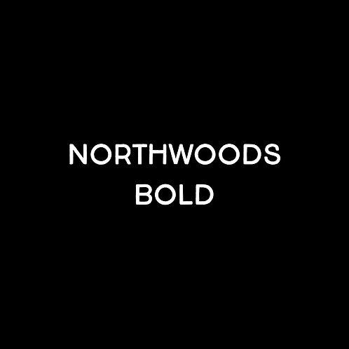 Northwoods Bold Font - 1 User