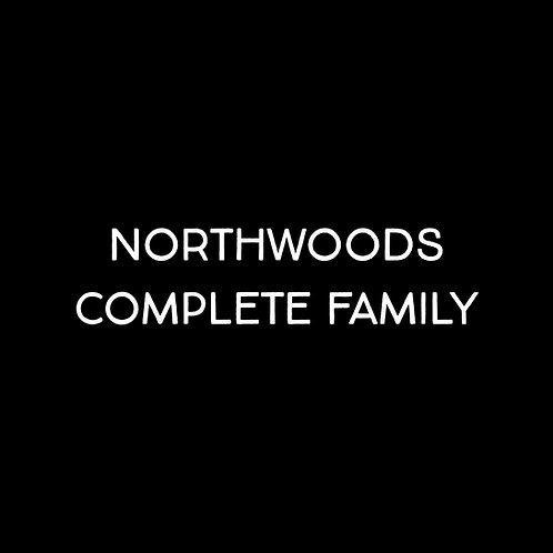 Northwoods Complete Font Family - 1 User