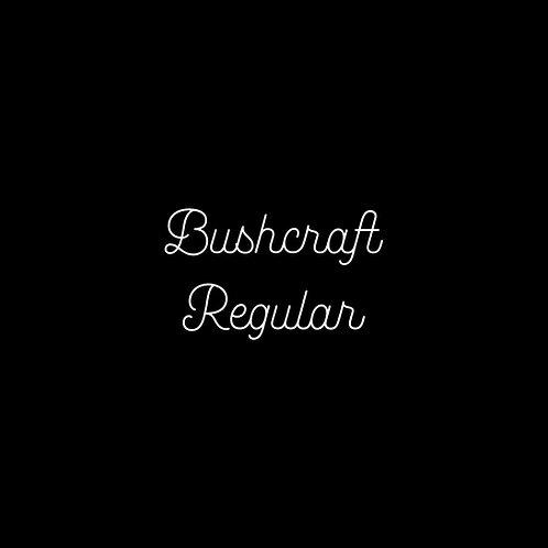 Bushcraft Regular Font - 1 User