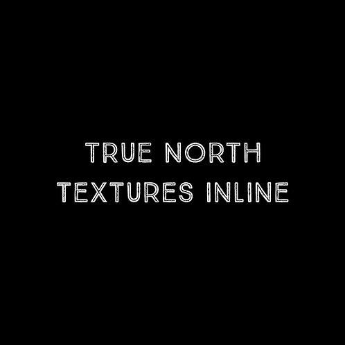True North Textures Inline Font - 1 User