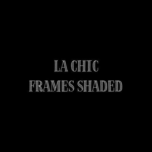 La Chic Frames Shaded Font & Vector Art - 1 User