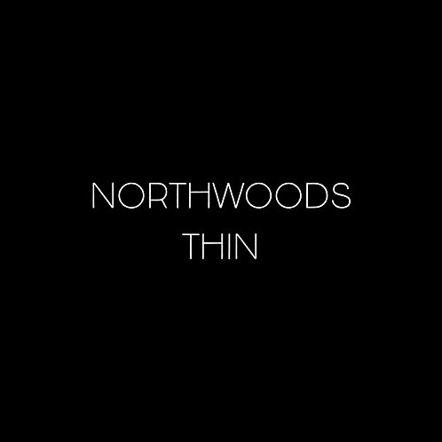Northwoods Thin Font - 1 User