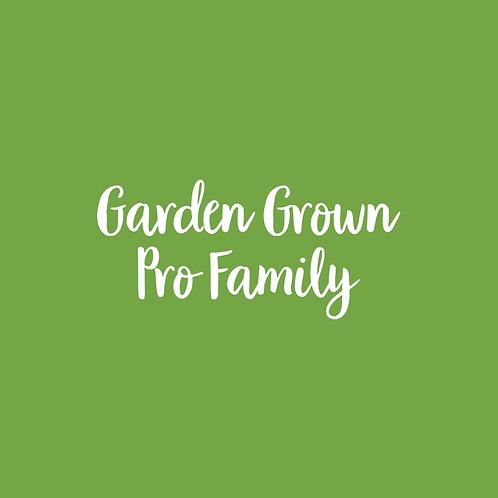 GARDEN | PRO FONT FAMILY