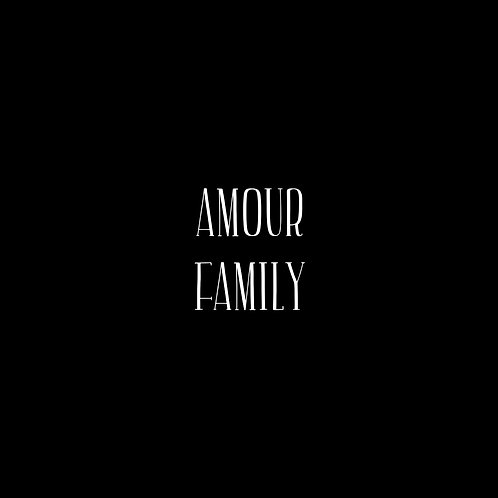 Amour Font Family - 1 User