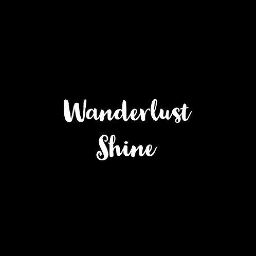 Wanderlust Shine Font - 1 User