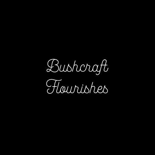 Bushcraft Flourishes Font & Vector Art - 1 User