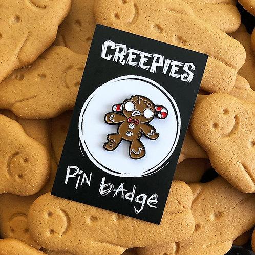 GingerDEAD Man - Soft Enamel Pin Badge