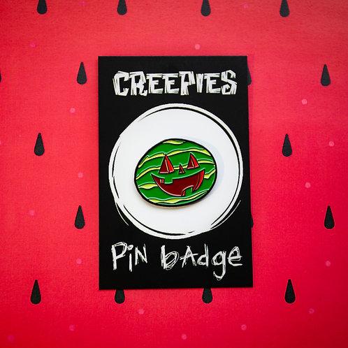 Summer Pumpkin Pin Badge