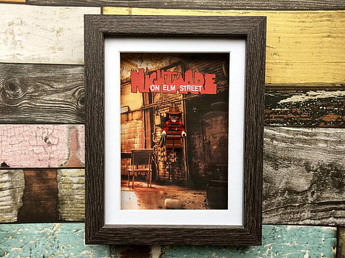 Nightmare on Elm Street - Freddy Kruger Lego Frame