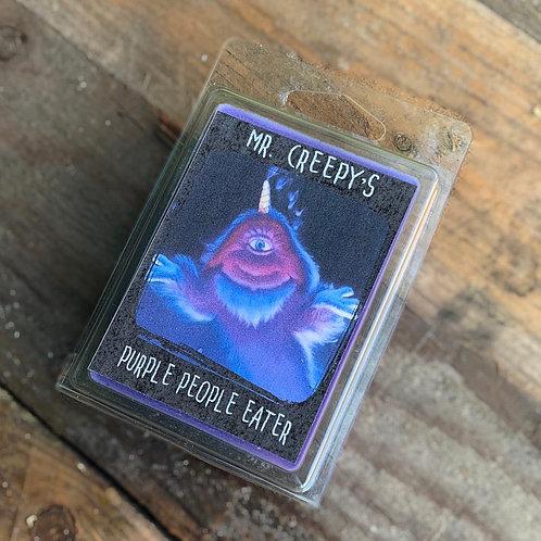 Mr. Creepy's Purple people eater Wax Melt