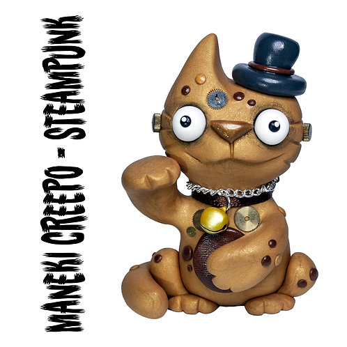 Maneki Creepo STEAMPUNK