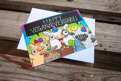 Veganniversary Greetings Card!