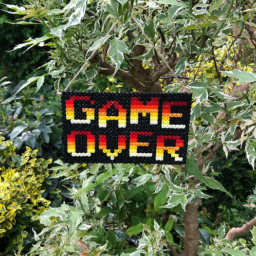 ARTCRAFT - Game Over Sign