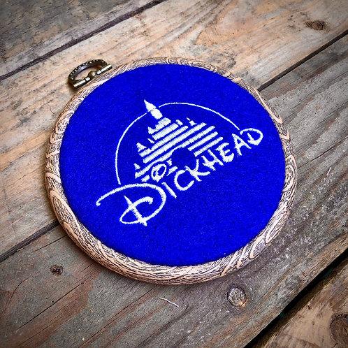Disne... D!ckhead Embroidery Hoop
