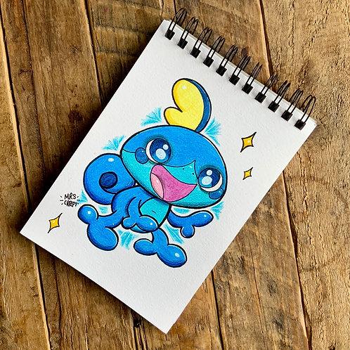 Sobble - Pencil Drawing