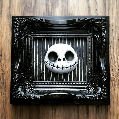 Creepy Commission - Jack Head in Ornate Frame