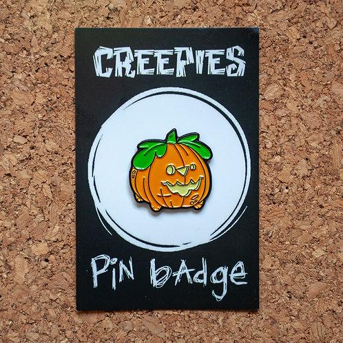 Pupkin Soft Enamel Pin Badge
