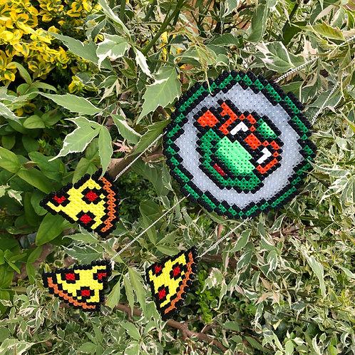 ARTCRAFT - TMNT Dream Catcher (can change turtle)