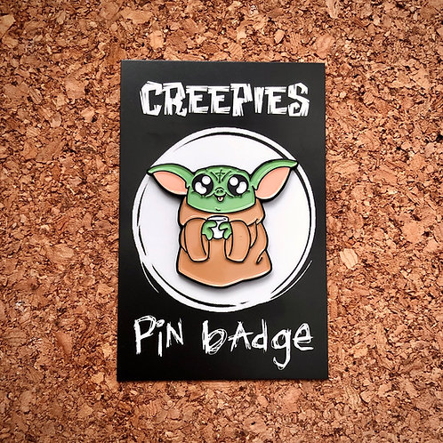 Baby Yoda - soft enamel pin badge