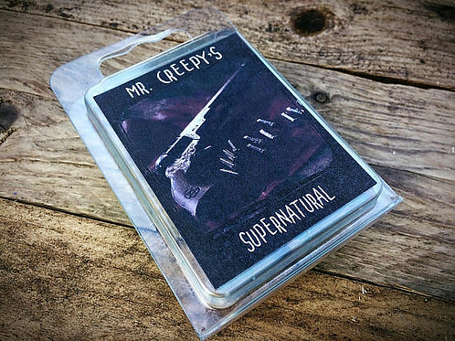 Mr Creepy's Supernatural Wax Melts.