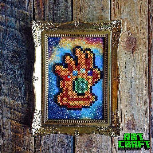 ART CRAFT - Thanos Bead Art