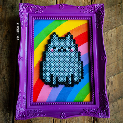 ART CRAFT - Pusheen Bead Art