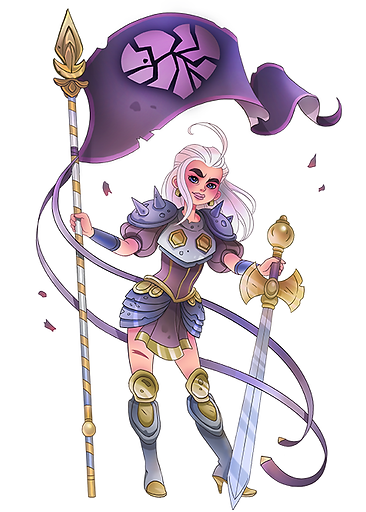 JeanneDarc_Game-Artist_Characterdesign_M