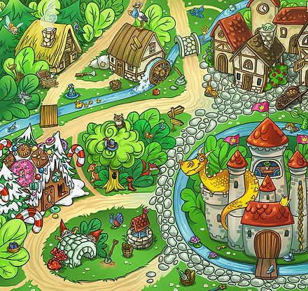 Spielelandschaft_Maerchen_Illustration_v