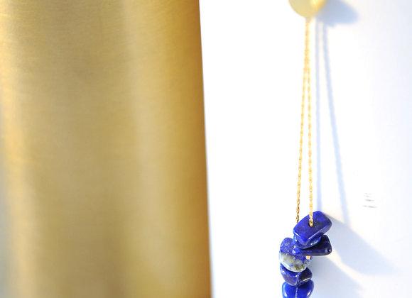Sautoir Or & Lapis Lazuli