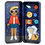 Thumbnail: Petit Collage Space Bound Magnetic Dress Up - Grumpy Kid