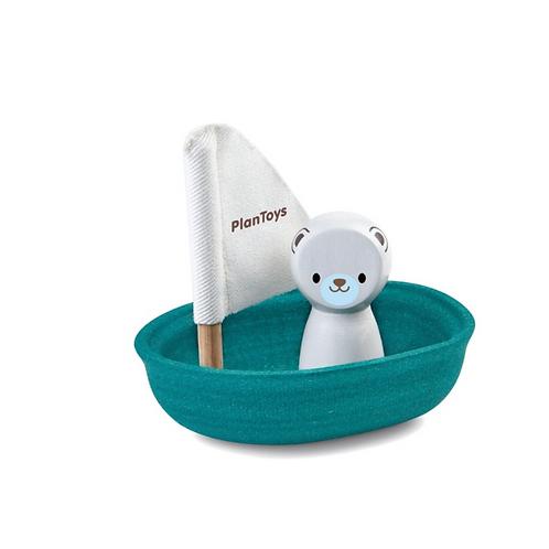 Bath Sailing Boat Polar Bear - FairKind Child