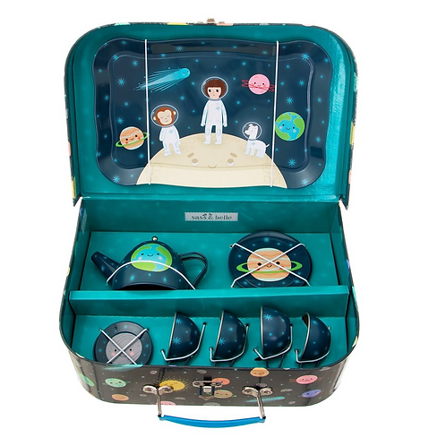 Space Explorer Tea Set - Grumpy Kid