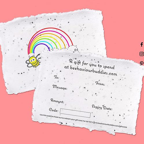 Beehaviour Buddies Gift Cards