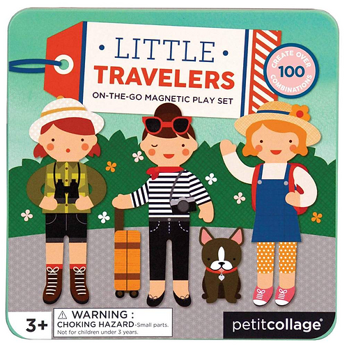 Magnetic Play Set Little Travellers - Grumpy Kid