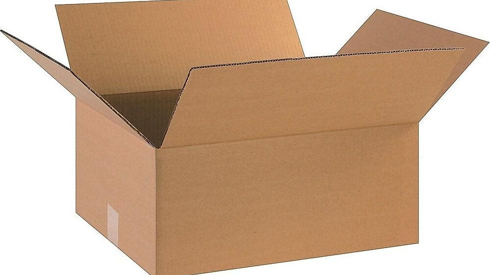 18 x 7 1/2  x 14 Shipping Box