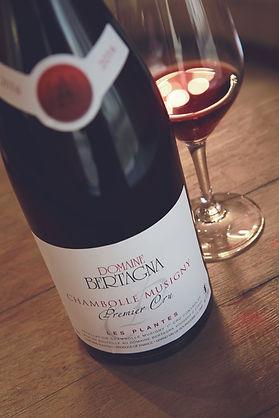 Chambolle Musigny Premier Cru Domaine Bertagna Red Wine Vin Rouge Pinot Noir Burgundy Bourgogne