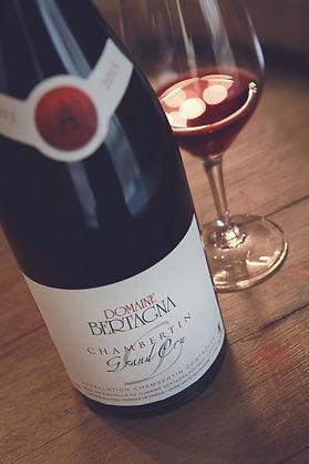 Chambertin Grand Cru Red Wine Vin Rouge Pinot Noir Burgundy Bourgogne
