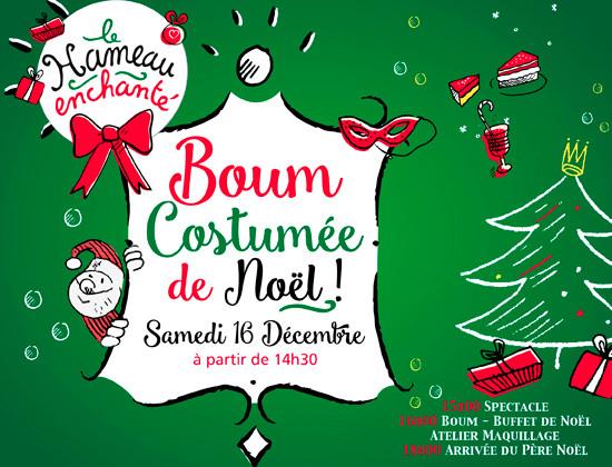 Affiche Boum Costumée de Noël