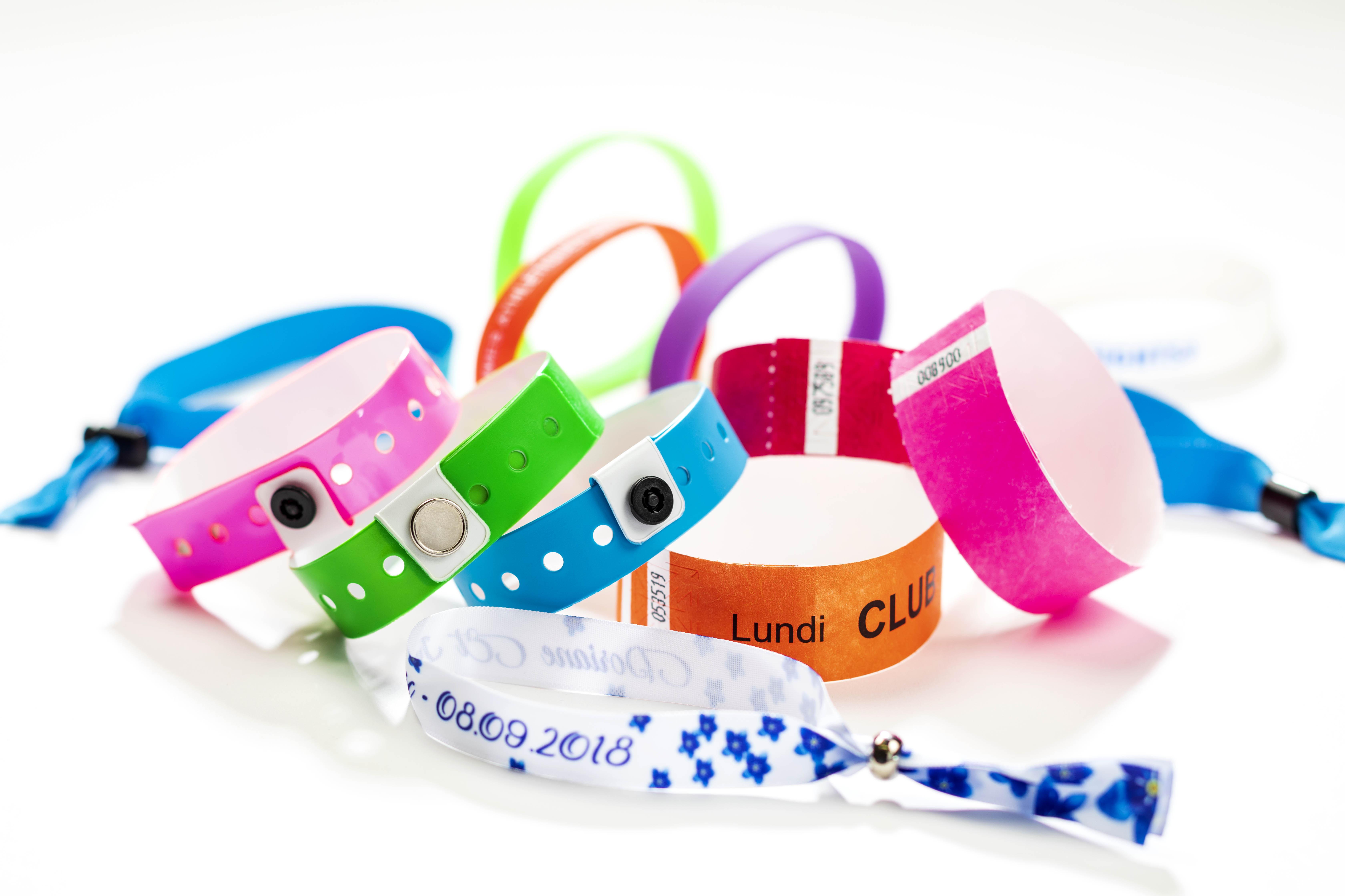 Bracelets évènementiels 1.1