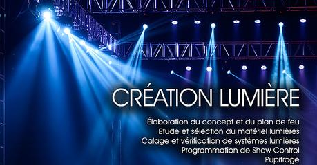 Création lumière