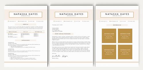 Natasha Resume Template