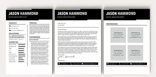 Jason Resume Template